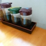 ダイ平 - テーブル