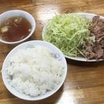 珍来 - 生姜焼き定食