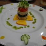 北新地 和伊屋 - Vegi Sushiのケーキ仕立て
