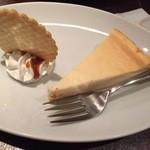 ヌーンプラスカフェ - チーズケーキ