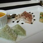 オステリアカンパーロ - 料理写真:前菜盛り合わせ