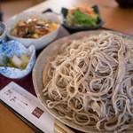 蕎麦一 - 料理写真:蕎麦(大盛り)