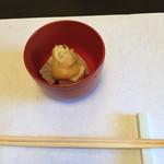 青柿 - 角煮・麩・大根の炊き合わせ