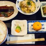 おいしい台所12カ月 - 日替り定食(さんま蒲焼定食):800円/2015年11月