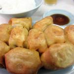 ファイト餃子 - 餃子定食10個