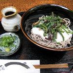 伝兵衛 - 山菜トロロ蕎麦