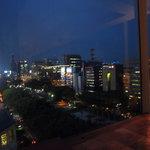アロマフレスカ - 食事を盛り上げてくれた素敵な夜景