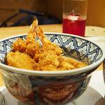 天ぷら新宿つな八 - 大海老天丼