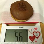 仙太郎 - どらやき 仙太 ¥190位 小ぶりな56g、生地は厚め、 餡子は少なめで水飴のネチネチ感あり 2015年11月4日購入