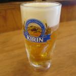 磯丸水産 - 生ビール