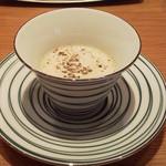 44095861 - 小前菜 キノコ香るスープ