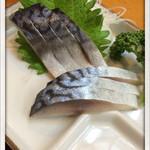 大衆酒蔵 浅野屋 - シメサバ 2015.11