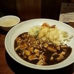 44102523 - 魚尽くしの麻婆豆腐丼セット