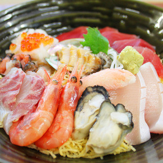 【特別海鮮丼】うみゃー丼(イメージ)