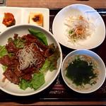 焼肉 徳 - カルビ丼
