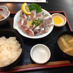いわし料理 すゞ太郎 - イワシの刺身定食@790円