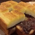 とむ - 料理写真:あんバタートースト