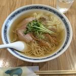 中華そば 熊野 - 雲呑そば(塩) ¥850