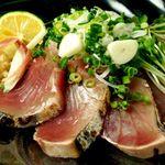 魚浜 - 絶品カツオの塩タタキ