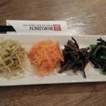 ボクデン 札幌店 - ナムル4種の盛り合わせ