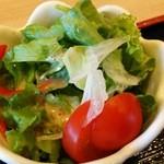 力丸 - ランチのサラダ