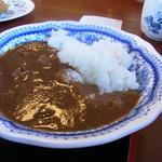 手打蕎麦 和の里 - 半カレー(250円)
