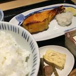 44125040 - 銀鮭の西京焼き(930円)