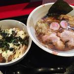 44127240 - 煮干しラーメン&ランチカラマヨ丼