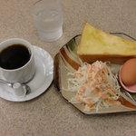 カリフォルニア - 料理写真:ホット珈琲&モーニング