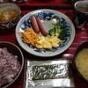 泉屋 - 料理写真:朝食:人参シリシリ