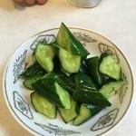 萬福亭 - キュウリの漬け物