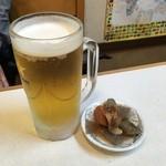 萬福亭 - 生ビール
