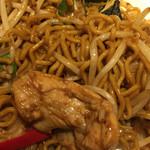 タイレストラン タニサラ - パッバミーキーマオ(タイ焼きそば)