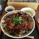 大阪ふくちぁんラーメン - 帯広豚丼(バラ特盛)