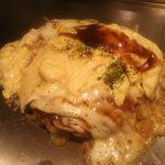 弁兵衛 - ふわとろお好み焼き・チーズトッピング