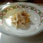 南蛮 銀圓亭 - 鶏とオレンジのサラダ