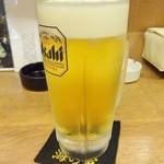 男子厨房 海の家 - 生ビール