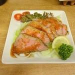 男子厨房 海の家 - ローストビーフ
