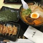 博多三氣W - げん気ラーメンと餃子