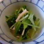 44137726 - 小松菜とえのきのお浸し