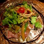 44138496 - 本日の鮮魚のカルパッチョ風サラダ