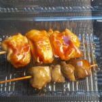 肉のつきのき - 料理写真:ジャンボ焼鳥&レバー