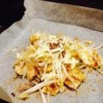 WaDan処 小粋 - 鶏ちゃん 味噌味 トッピングにチーズ  これが意外とまろやかになって美味しいデス。