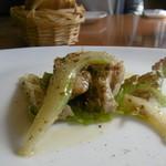 イタリアンキッチン・シエロ - 鶏とセロリのマリネ