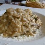 イタリアンキッチン・シエロ - ポルチーニ茸のリゾット