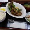 廣石 - 料理写真:日替わりランチ、豚角とヤーコンのオイスター煮、ランパス4利用で¥500