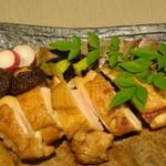 越後屋 久保田 - こだわり地鶏の味噌焼き(逸品料理)/10月来店