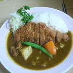 アサノ - 料理写真:かつカレー全景」