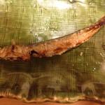 鮨 さるたひこ - 平成25年7月 稚鮎の塩焼き あらかた食べてしまった後。。。