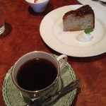 Kokage coffee - キリマンジャロAA と バナナのケーキ♪